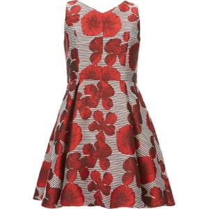 176a761694 Gb Girls Social Big Girls 7-16 Floral Striped Jacquard Dress from Dillard s.