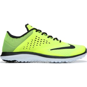 a7137649026ea Nike Men s Fs Lite Run 2 Running Shoes (Volt Black) from Famous ...