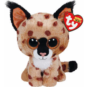698afa9b7a0 New Elc Boys and Girls Ty Buckwheat the Linx Beanie Boo Toy From ...