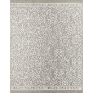 Nauset 10 X 14 Outdoor Rug Gray Mohawk Home Silver From Target