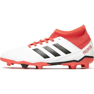big sale 9466a 17211 adidas Cold Blooded Predator 18.3 FG Junior - WhiteRed - Kids from JD  Sports.