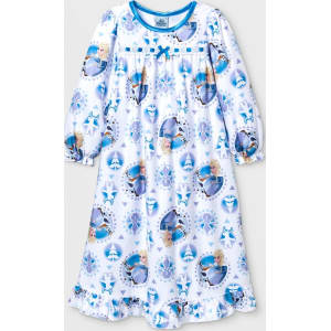 35c3eccf19 ... so cheap 4d18a c87f0 Toddler Girls Disney Frozen Nightgown - White 3T  ...