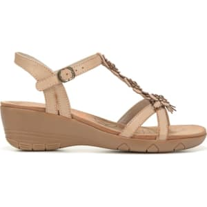 94ae31ecfd58 Bare Traps Women s Hammond Wedge Sandals (Tan) from Famous Footwear.