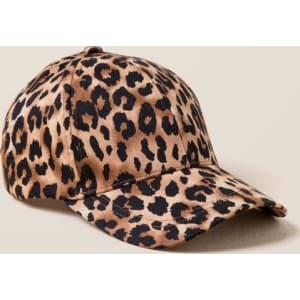Marlee Leopard Print Baseball Cap - Leopard from francesca s. 587d9a2c9fd