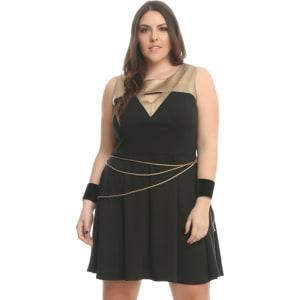 300f29ba77d1 Her Universe Dc Comics Wonder Woman Lasso Dress Plus Size from Hot ...