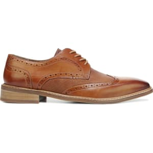 Giorgio Brutini Men s Riven Wing Tip Oxford Shoes (Tan Leather) from ... 9caa97683d4