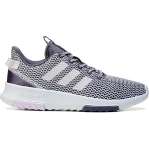 huge selection of a871e 51753 Adidas Womens Cloudfoam Racer Tr Sneakers (PurpleWhitePink)