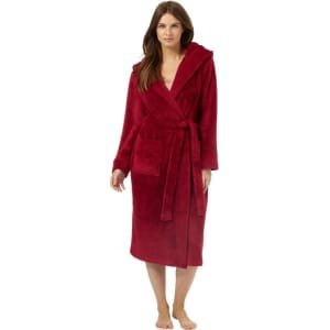 J by Jasper Conran - Red Hooded Dressing Gown from Debenhams. 805f2b650