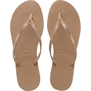 7bb3090deb45 Havaianas You Metallic Flip Flops Rose Gold - Womens from Havaianas.