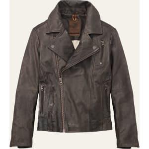 Women's Belknap Leather Biker Jacket