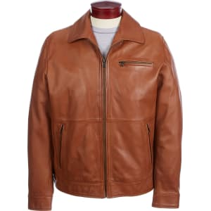 fb361ec67e5 Roundtree   Yorke Lambskin Leather Jacket from Dillard s.