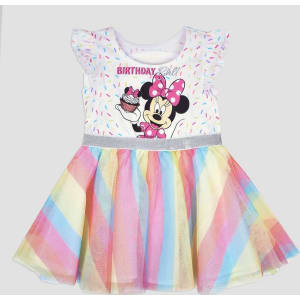 7244d3327 Toddler Girls' Disney Mickey Mouse & Friends Minnie Mouse Birthday ...