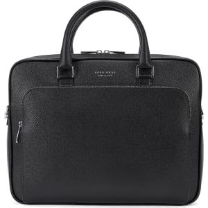 cbdf9adc07 Hugo Boss Signature Slim Doc Palmellato Leather Bag One Size Black ...
