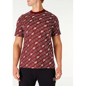 b8a24f981ac Adidas Men's Originals Adicolor Monogram T-Shirt, Black from Finish ...