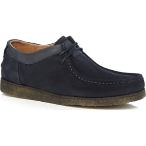 b336bc4362936 Hush Puppies Navy Suede 'Davenport' Lace Up Shoes from Debenhams.