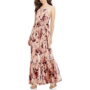 29a94fa029d Coco + Jaimeson High-Neck Floral Print Maxi Dress from Dillard s.