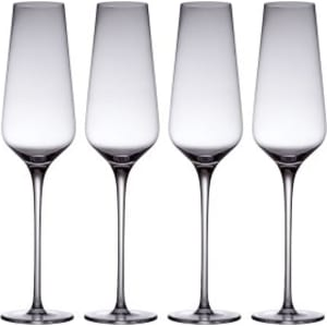 41ee624efd45 From Waitrose Crystal Champagne Flutes