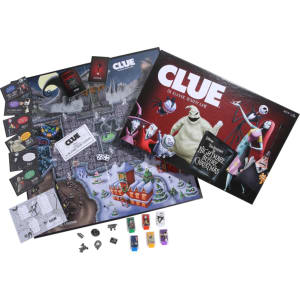 the nightmare before christmas edition clue board game - Nightmare Before Christmas Board Game