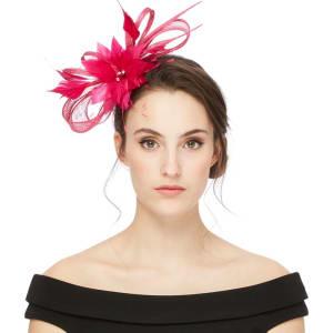 Star by Julien Macdonald Pink Feather Fascinator from Debenhams. 5a57110a4e9
