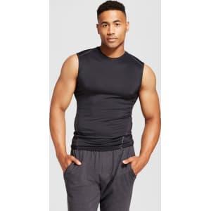 7c71e75bb33c Men s Sleeveless Powercore Compression Shirt - C9 Champion - Black ...