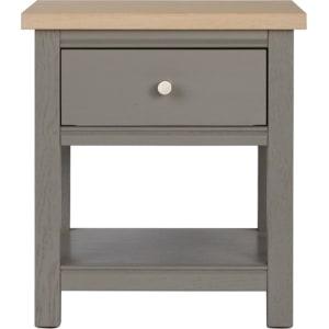 Corndell Light Grey Marlow Side Table