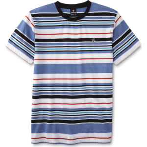 6e7924d43 Southpole Young Men's Graphic T-Shirt - Striped, Size: Xl, Blue from ...