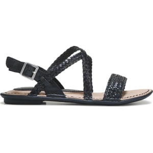 7708e8e44023 b.o.c. Women s Dena Sandals (Black) from Famous Footwear.