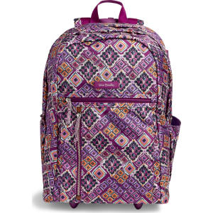 e3b713ca1c20 Vera Bradley Lighten Up Large Rolling Backpack in Dream Diamonds ...