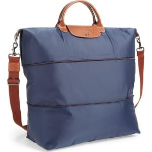 b7d3e72a25d0 Longchamp  Le Pliage  Expandable Travel Bag - Blue from Nordstrom.