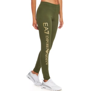 a5d3505c5deaa9 Emporio Armani Ea7 Leggings - Khaki/ Gold - Womens from JD Sports.