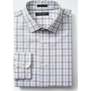 Gingham Shirt Houndstooth Tie Red Bar Bo
