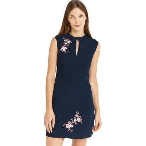 a9ba13f176d8 Oasis Multi Blossom Print Embroidered Dress from Debenhams.