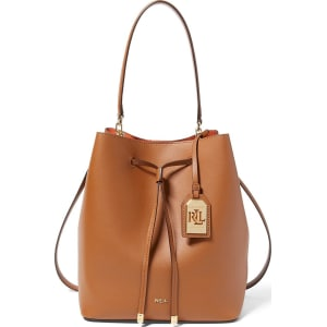 5a3bc674c826f Lauren Ralph Lauren Dryden Collection Debby Medium Drawstring Bag ...