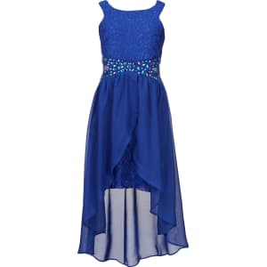 ae2b1f67fc Tween Diva Big Girls 7-16 Lace Hi-Low Dress from Dillard s.
