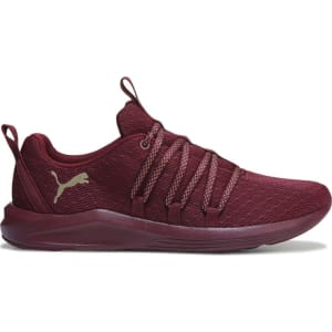 Puma Women s Prowl Sneakers (Red   Gold) from Famous Footwear. 905157f82