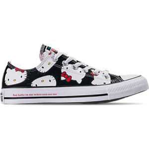 b1c0ae18b7bd37 Converse Women s Chuck Taylor All Star Hello Kitty Ox Casual Shoes ...