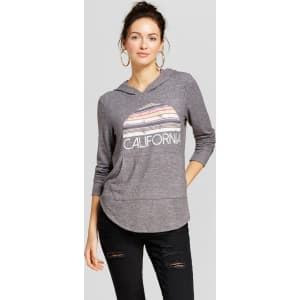 Womens California Long Sleeve Graphic Sweatshirt Grayson Threads