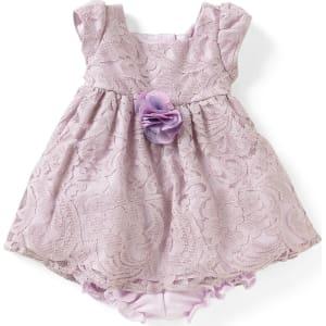 4f1728400 Laura Ashley London Baby Girls Newborn-24 Months Lace Babydoll Dress ...