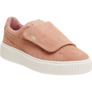 b67cb2f3cc6d Puma Suede Platform Trainers, Brown from House of Fraser.