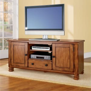 Dorel Home Furnishings Dorel Summit Mountain Tuscany Oak Tv Stand