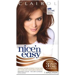 Nice N Easy Permanent Hair Colour 6rb Natural Light Reddish Brown Former 114c