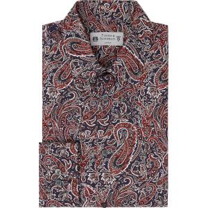 46b2143c460d Men's Turner & Sanderson Snowdonia Animal Paisley Printed Shirt ...