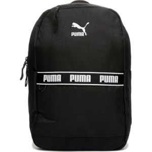 63fc3ca83e90 Puma Linear Backpack Accessories (Black) from Famous Footwear.