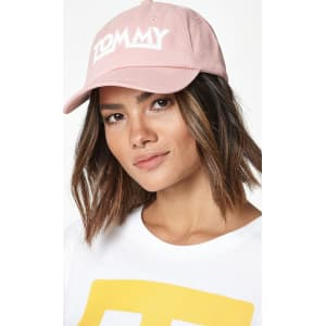 Tommy Jeans Womens Soft Dad Hat - Pink from PacSun. f7f6b97cc