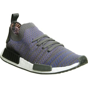 size 40 7bc0a 81647 Adidas Nmd R1 Prime Knit Hi Res Blue Black White from Office.
