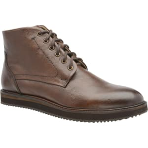 2df1b42bb32 Frank Wright Brown 'Duane' Men's Lace Up Derby Boots