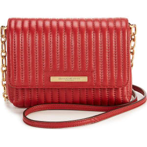 37ea71477 Donna Karan Pinstripe Quilted Mini Cross-Body Bag from Dillard's.