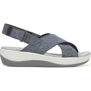 95ec2f66f14 Clarks Women s Arla Kaydin Cloudsteppers Sandals (Navy White) from ...