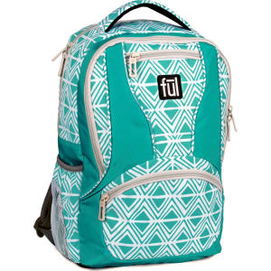 Ful 17 Mission Backpack - Teal 3ee60c502cc8a