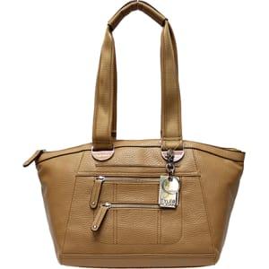 Tyler Rodan Willow Double Handle Shoulder Bag Oak From Boscovs